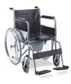 Инвалидная коляска с судном  FS610 (Китай)