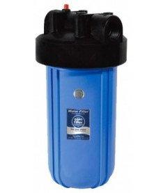 Корпуса фильтров типа Big Blue со стаканами голубого цвета Aquafilter FH10B54_M