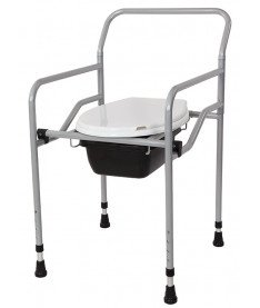 Кресло-туалет с санитарным оснащением регулируемое Heaco KT-770