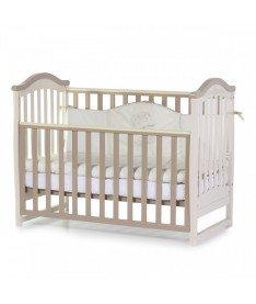 Кроватка детская Верес Соня ЛД3 без колес на ножках, капучино