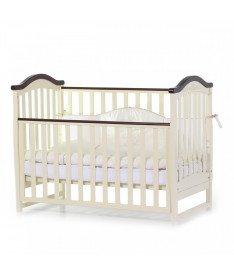 Кроватка детская Верес Соня ЛД3 без колес на ножках, слоновая кость
