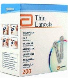 Ланцеты Thin Lancets ( 200 шт.) в упаковке