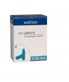Ланцеты Wellion 28G 50шт (Австрия)
