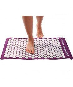 Массажный коврик для ног акупрессурный Qmed 75Х32 см