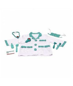 Melissa&ampDoug MD14839  Doctor Role Play Costume Set  Костюм Доктор, 3-6 лет