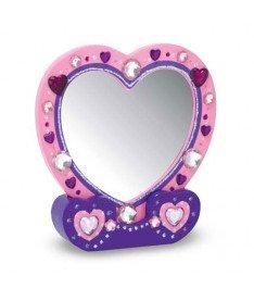 Melissa and Doug MD3349  Набор для творчества &quotСоздай свое зеркальце-сердечко&quot