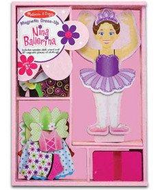 "Melissa and Doug MD3554 &quotНина-балерина"" - магнитная одевалка"
