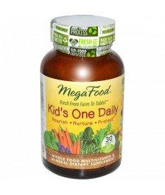Мультивитамины &quotодна таблетка в день для детей&quot MegaFood 30 шт