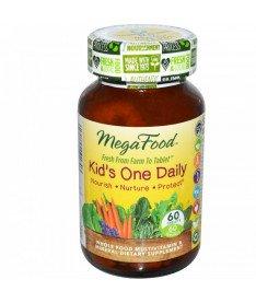 Мультивитамины &quotодна таблетка в день для детей&quot MegaFood 60 шт