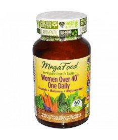 """Мультивитамины &quotодна таблетка в день для женщин после 40"""" MegaFood 60 шт"""