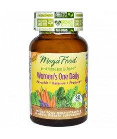 """Мультивитамины &quotодна таблетка в день для женщин"""" MegaFood 30 шт"""