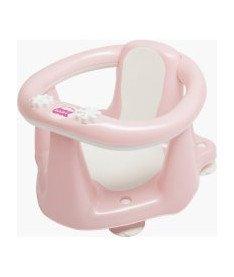 OK Baby Сидение детское Flipper Evolution с нескользящим покрытием и термодатчиком нежно-розовый