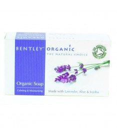 Органическое мыло Увлажняющее и успокаивающее 150г, Bentley Organic