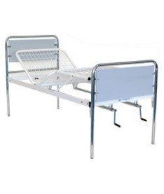 OSD-94C Кровать металлическая с поручнями металлический каркас 4 секции