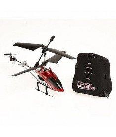 PaulG FALCON (красный, 3-канальный, 20 см, c гироскопом Вертолет на ИК управлении с пультом-перчаткой -