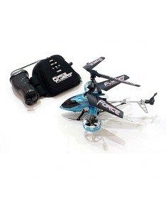 PaulG  RAPTOR (синий, 4-канальный, 20 см, с гироскоп Вертолет на ИК управлении с пультом-перчаткой -