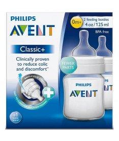 Philips Avent SCF560/27 Бутылочка для кормления classic +, 125 мл, 2 шт