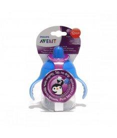 Philips Avent SCF753/00 Чашка с носиком, мягкие ручки, клапан от протекания, 260 мл. 1шт, 12 мес+