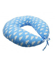 Подушка для кормления KIDIGO Тучки (с наволочкой)