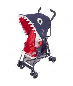 Прогулочная коляска Maclaren Shark Denim синий джинс