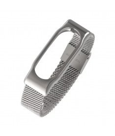 Ремешок для браслета Xiaomi Metal strap metal holder Silver