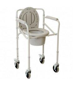 Складной стул-туалет на колесах OSD-2110JW