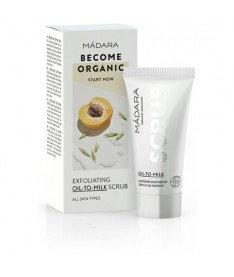 Скраб отшелушивающий масляно-молочный Madara Exfoliating scrub &quotOil-To-Milk&quot 12,5 мл