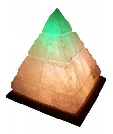 Соляной светильник Пирамида египетская 5-6 кг