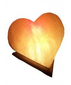 Соляной светильник Сердце 4-5 кг