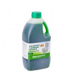 Средство для дезодорации биотуалетов Кемпинг, верхний бак 1,6 л, Украина