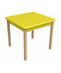Столик детский Верес, желтый