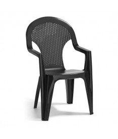 Стул Allibert Santana Chair серый