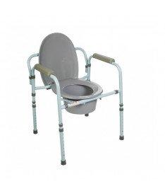 Стул туалетный со спинкой 10595 Doctor Life