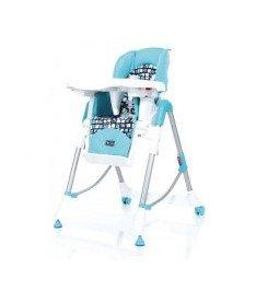 Стульчик для кормления ABC HIGHTOWER Ocean (голубой с рисунком)