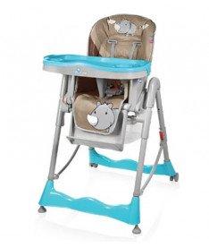 Стульчик для кормления Baby Design PEPE 07 (Rhino)