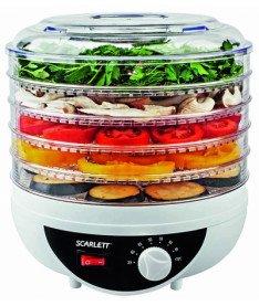 Сушилка для овощей и фруктов Scarlett SC 0421
