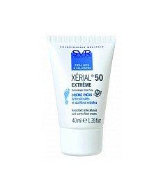 SVR Ксериаль 50 Экстрем Интенсивный кераторегилирующий крем при устойчивых гиперкератозах кожи стоп и мозолистых образованиях 40 мл