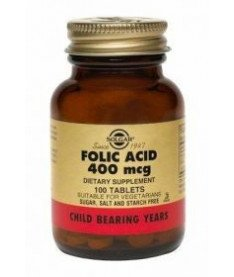 Таблетки Solgar Фолиевая кислота N100