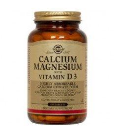 Таблетки Solgar Кальций-магний с витамином Д-3 1550мг N150