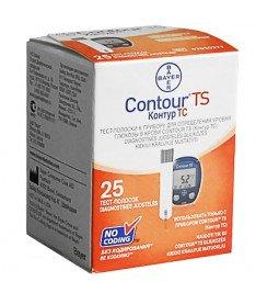 Тест-полоски для Contour TS (25 шт.) (Bayer)