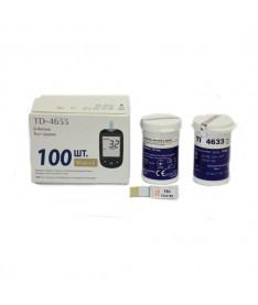 Тест-полоски для определения уровня b-Кетонов в крови 100 TaiDoc TD-4633