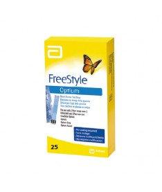 Тест-полоски  FreeStyle Optium (25 шт.) (Abbott)