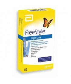 Тест-полоски FreeStyle Optium (50 шт.) (Abbott)