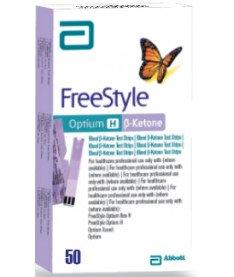 Тест-полоски FreeStyle Optium H b-кетони Abbott, 50шт