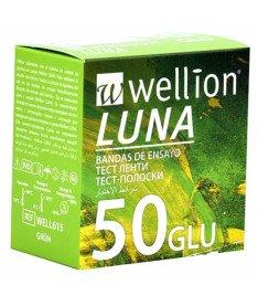 Тест-полоски Wellion Luna Duo 50 шт. (Австрия)