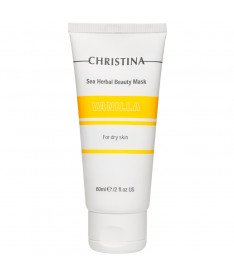 Ванильная маска красоты для сухой кожи Christina Sea Herbal Beauty Mask Vanilla, 60 мл