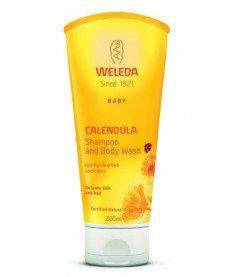 Weleda Шампунь-гель для тела и волос Weleda (Calendula Waschlotion & Shampoo) 200 ml