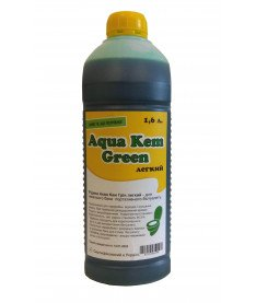Жидкость для нижнего бака биотуалета Aqua Kem Green Легкий