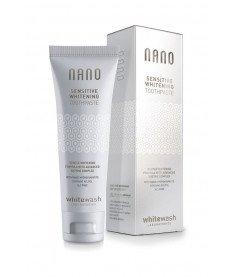 Зубная паста NANO отбеливающая для чувствительных зубов с гидроксиапатитом 75 мл WhiteWash Laboratories (Англия)