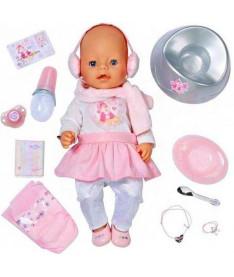 Zapf BABY BORN - ЗИМНЯЯ КРАСАВИЦА (43 см, с чипом и аксессуарами)  Кукла
